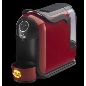 Machine à café CAFFITALY S21 rouge noir