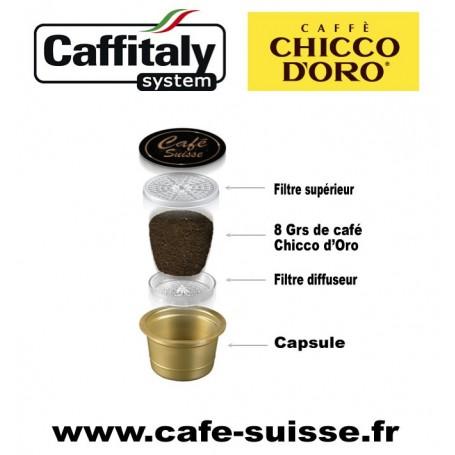 capsule de café Chicco d'Oro Caffitaly system