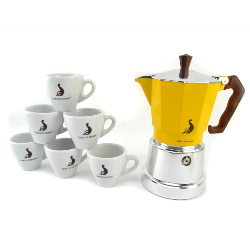 cafetière italienne 6 tasses